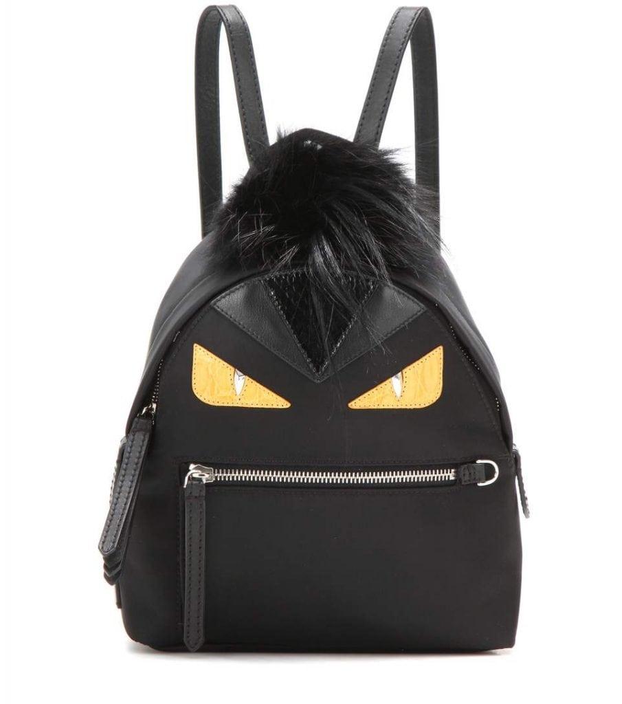 Fendi Taschen Mini Monster Mohawk mit Fell