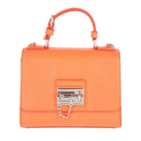 Dolce&Gabbana Monica Borsa A Mano Mandarino