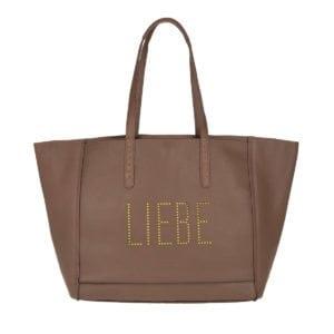 Liebeskind Floater Reversible Shopping Bag Samurai Brown, Liebeskind Handtasche