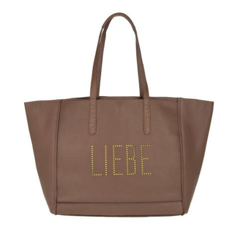 Liebeskind Floater Reversible Shopping Bag Samurai Brown