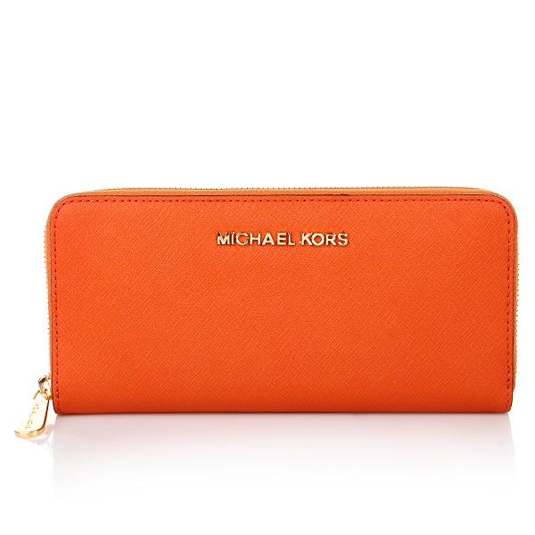 Michael Kors Portemonnaie Orange