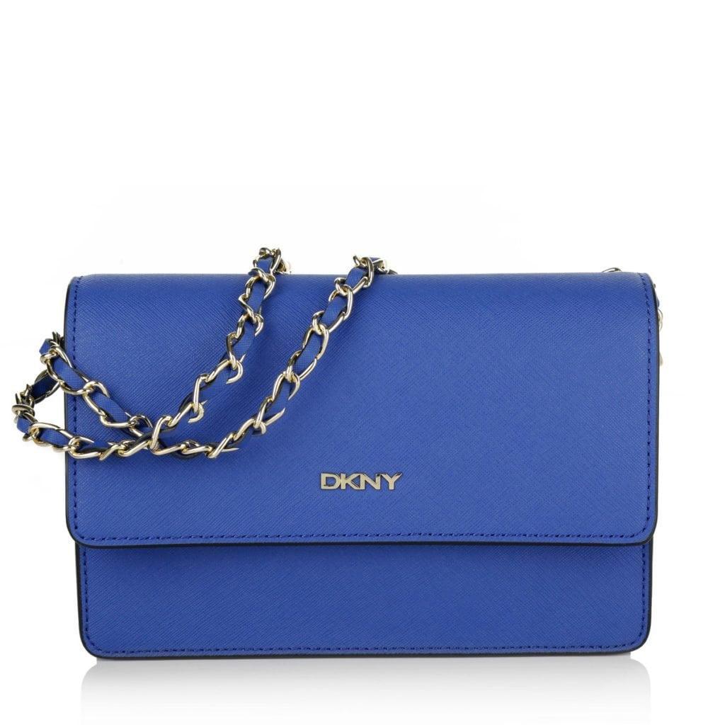 DKNY Bryant Park Shoulder Bag Electric Blue
