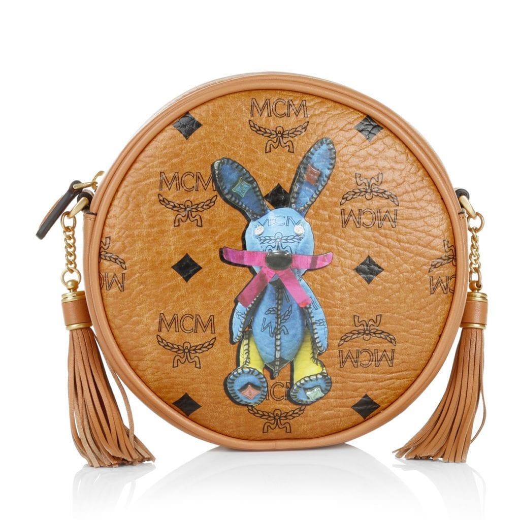 Eine der süßesten Designer Mini Bags: MCM Rabbit Tambourine Bag Small